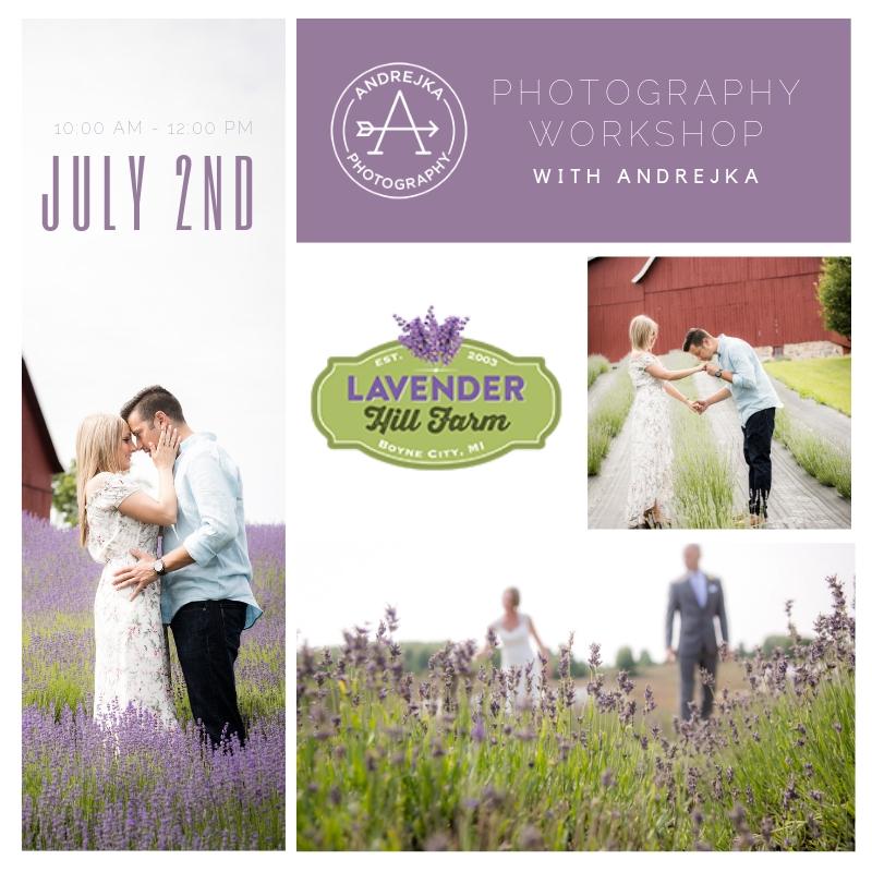 Photography Workshop Lavender Hill Farm Andrejka