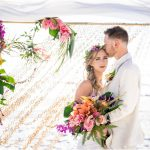 A Tropical St. Petersburg Beach Wedding